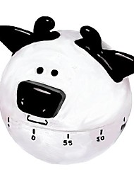 60 min Cow Shaped Mechanical Kitchen Timer Cooking Count Down