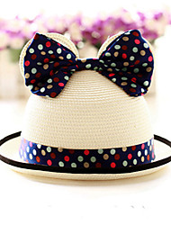 Kid's Lovely Mikky Ear Straw Hat