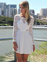 O  M  G  Women's European Korean Fashion solid color Dress