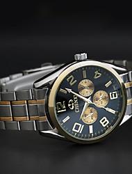 Chenxi três dashboard relógio homens de negócios pulseira de ouro de quartzo