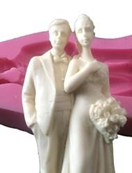 gâteau de silicone topper moule silicone moule de chocolat pour gâteaux de mariage décoration arts& artisanat sm-426