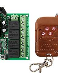 geeetech 315MHz rf 4 canais módulo de controle remoto de relé sem fio