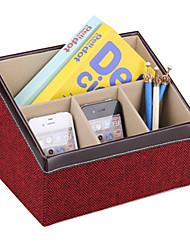 presentes groomsman mais cores titular do telefone tv casa caixa de armazenamento jardim caddy organizador caneta controle remoto