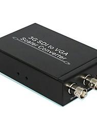 3G-SDI al convertidor de escalador vga SD-SDI, HD-SDI y 3G-SDI a VGA
