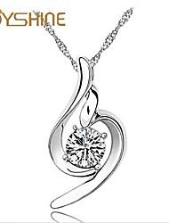 JOYshine Women's s925 Silver Soft and Beautiful Pendant Silver Necklace