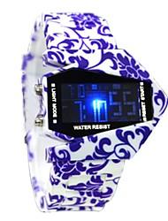 Mujeres - Digital - Leopardo - Reloj Deportivo -