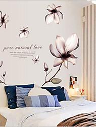 Umwelt abnehmbaren romantische Blume PVC-Tags&Aufkleber