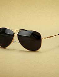 поляризованных мужские летчик литые ретро очки