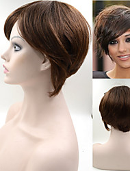 #2/30 6inch Indian Hair wig Exquisite Women's Hairstyle wigs Brown Elegant Short Hair Wigs GH04