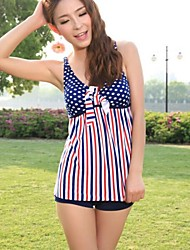 Women's Split Boxer Was Thin Cover Belly Swimming Suit