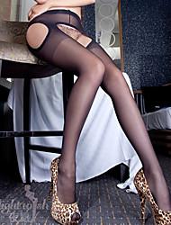 Sexy Stockings Open File Slim Pants Stockings-1022