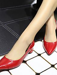 Winbo Женская мода очарование низкий каблук обуви