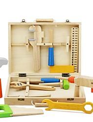 BENHO Tool Box Wooden Education Blocks Baby Toy