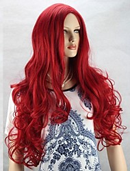 Fashion Natural Red Big Wave High Quality Hair