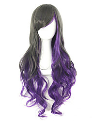 Popular Anime Gradient Fashionable Curly Wig