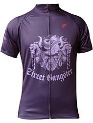 Mailliot Cyclisme - Respirable/Résistant aux ultraviolets/Séchage rapide/mèche  à Manches courtes Homme Extensible S/M/L/XL/XXL/XXXL