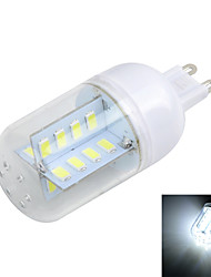 Marsing G9 5W  Cross Board 500LM 6500K/3000K 32-5730 SMD Warm/Cool White Light LED Corn Bulb (AC 220~240V)