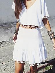 Zha.Mi   Women's Fashion European Two Pieces Suit(Blouse,Skirt)