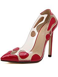Stiletto Damenschuhe - Pumps/Heels Gold/Rot/Silber )