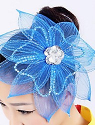 Women's Plastic Flower Shape Dance Headpieces(More Colors)