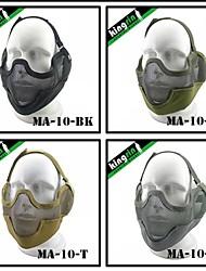 "MA-10-01 Face Steel ""Striker mask"" Gen2 Metal Mesh Half Face Military Mask"