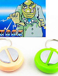 Shock-Your-Friend Electric Shock Handshake Toy Hand Buzzer Practical Joke Gadgets(Random Color)
