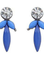 Tina -- Korean Fashion Acrylic Stud Earring in Daily (2 Pcs)
