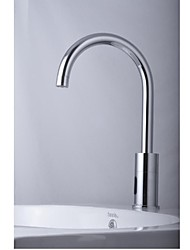 Contemporary Chrome Finish  Bathroom Sink  Faucet  with Automatic Sensor(Cold Only)