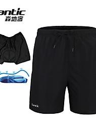 SANTIC Hombres Ciclismo Bicicleta Prendas de abajo / Shorts / Pantalones cortos Ropa interiorPantalones Cortos / Pantalones cortos Ropa