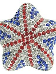 honorv ™ automobile hoogwaardige uitlaat solide parfum parfum met kunstmatige kristal is zeer glanzend (één)