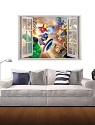 3D Wall Stickers Wall Decals, Fantasy World Decor Vinyl Wall Stickers