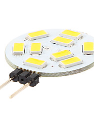 LED à Double Broches Blanc Chaud / Blanc Naturel G4 3W 9 SMD 5730 120-180 LM AC 12 V