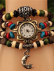 Women's 2015 The Latest  Fashion  Butterfly Beads  Japanese Quartz Watch(Assorted Colors)