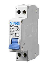 dz30-32 1p + n32a FI-Schutzschalter Fehlerstromschutzschalter