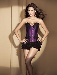 fitas de renda das mulheres impressão corsets shapewear (mais cores) sexy lingerie shaper