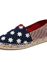 Chaussures Hommes Décontracté Multi-couleur Toile Mocassins