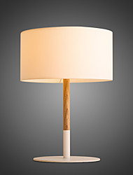 Design Style Square Feature Warm Wooden Table Lamps