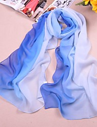 Shawls Chiffon/Polyester Macthing Color Casual/Special Occasion Scarves(More Colors)
