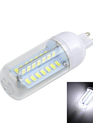 Marsing G9 10W Cross Board 1000LM 6500K/3000K 56-5730 SMD Warm/Cool White Light LED Corn Bulb (AC 220~240V)