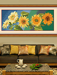 nuevo rhinestone del diamante bricolaje plaza de punto de cruz 5d por mano de pintura de flores de crisantemo bordado cristal de mosaico