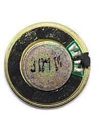 jtron 28 milímetros 8 ohm 1W diâmetro pequeno trompete - preto + bronze