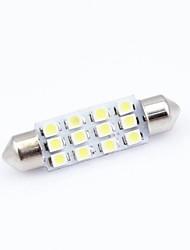 4pcs 12 SMD LED Car Dome Festoon Interior Light Bulbs 36mm Auto Car Festoon LED Roof Car Light