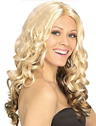 Cosplay Hot Models in Europe and America  a Long Section of High-quality Synthetic Wig New Golden Ball