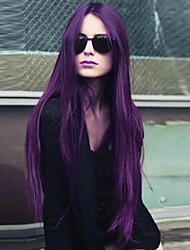 Points in Fashionable Purple High Quality Synthetic Hair