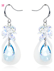 Lady's /Pageant/Daily Fashion Neoglory Jewelry Drop Earring with Drop Shell and Austrian Crystal