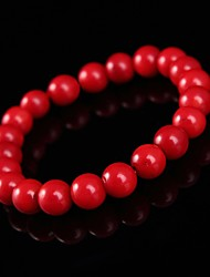 Persona Beads Collection With Red Coral Bracelet
