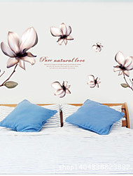 The Jade Orchid Wall Stickers Flowers Life Tree Botanical Washable Wall Decals