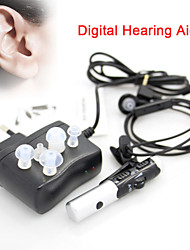 New Mini Rechargeable Digital Hearing Aid Adjustable Tone Best Sound Voice Amplifier Audiphone