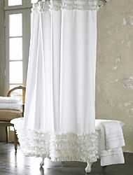 Ruffled Shower Curtain