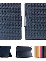 ipad 2 air graphique cuir PU couvertures intelligentes compatibles / cas folio